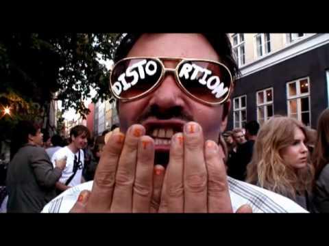 Distortion Festival in the streets of Copenhagen