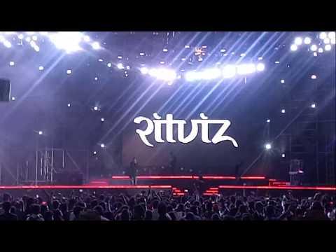 DJ Ritviz - Barso Re Badal Track @ YTFF Mumbai 2018