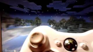 jouer a minecraft xbox360 a 2 joueurs