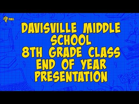 Davisville Middle School End of Year Presentation 8th Grade 2020