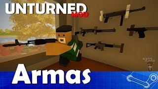 5 NOVAS ARMAS - UNTURNED