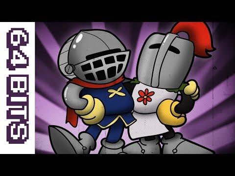64 Bits  Cupsouls Dark Souls animated like Cuphead