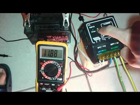 L&T PWM Solar charger Cut-Off Voltage