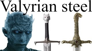 Download Valyrian steel: who has the swords that can defeat white walkers? Mp3 and Videos