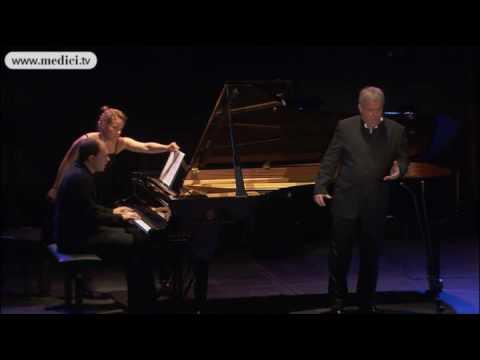 Christoph Prégardien, Kirill Gerstein - Schubert : Der Zwerg D 771 - Verbier Festival 2010