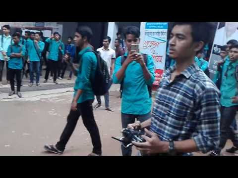 First Hexa Drone Fly at chittagong polytechnic Institute