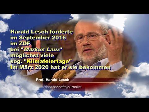 Fundstück #024: Harald Leschs Klimafeiertage sind im März 2020 Realität geworden !!