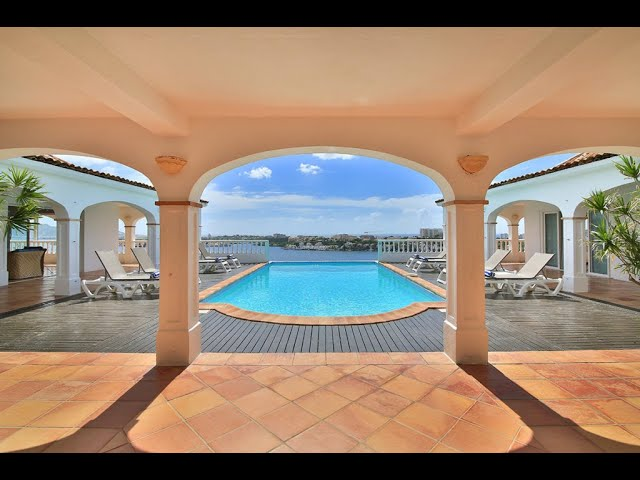 Saint Martin, Caribbean, Luxury waterfront Villa Escapade, Terres Basses French Lowlands for sale