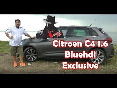 Citroen C4 2015 1.6 BlueHDI Dizel Otomatik Exclusive Test Sürüşü ve İnceleme