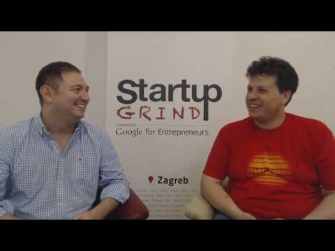 Startup Grind Zagreb hosts Marinko Josipovic (Covideo) June 2017