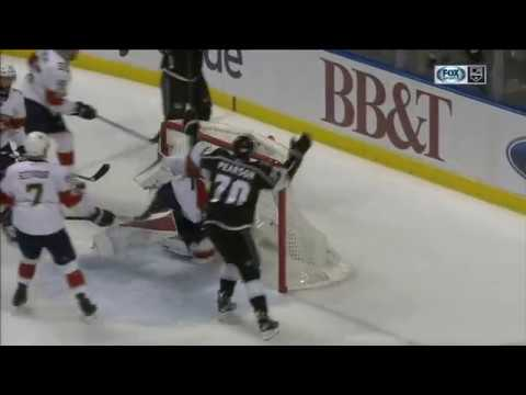 Dustin Brown Scores on James Reimer | Kings Lead Panthers 1-0