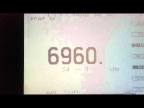 Baltic Sea Radio 6960 kHz Lsb 9.April.2016
