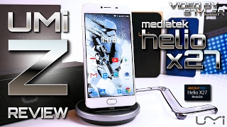 UMi Z White (In-Depth Review) Mediatek Helio X27, 13 MP Samsung Camera with Quad-LED Flash