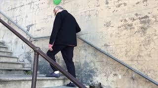 'One Step Forward, Two Steps Back' - Hickson Steps, Sydney, Australia, 28.9.2019