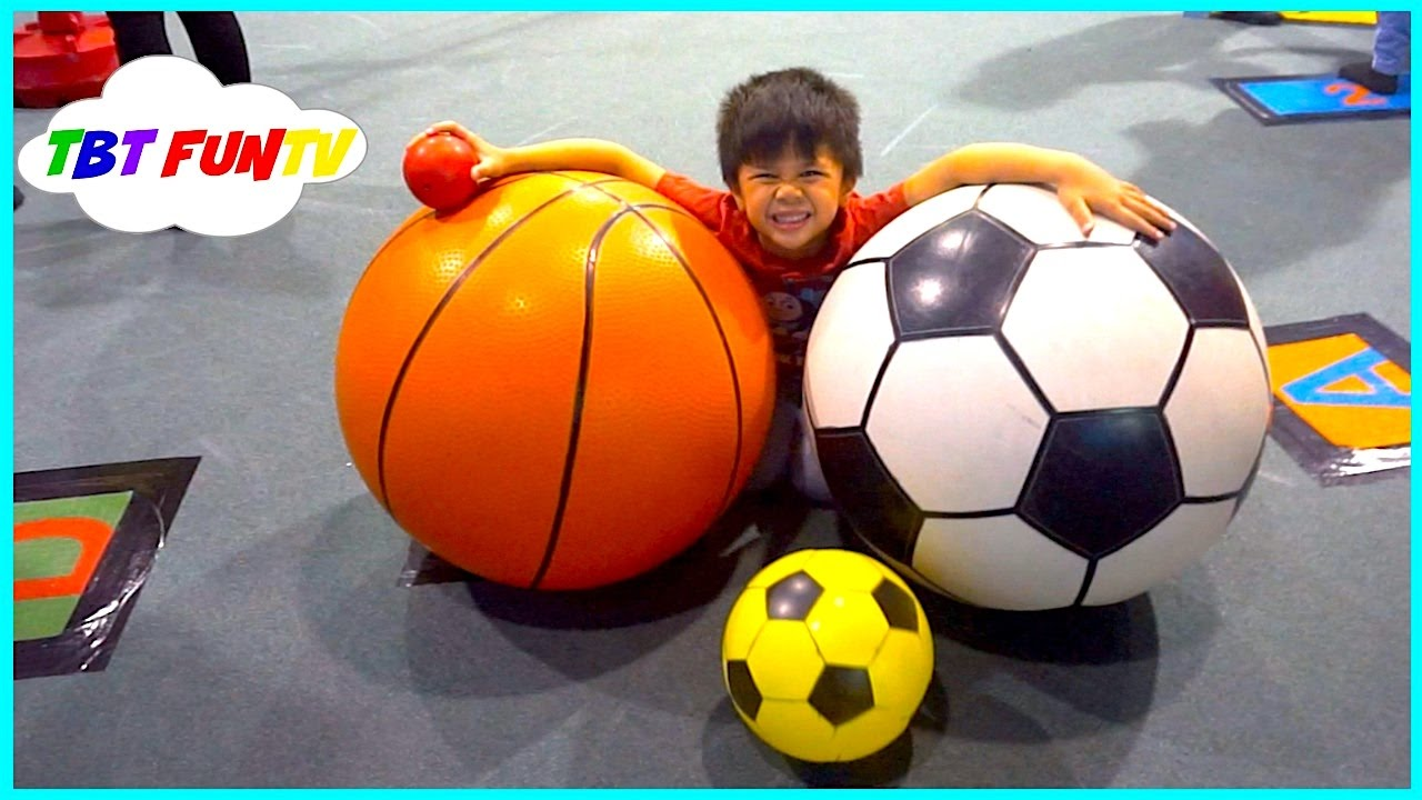 Indoor Playground Family Fun for Kids Play Center Giant Balls Slides Ball Pit