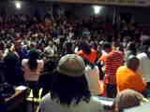 Tye Tribbett and G.A. singing I Need You in Chatt Town