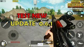 PUBG MOBILE - NEW UPDATE 0.6.1 - NEWS IN THE GAMEPLAY - REAL DRIVING-PYSICAL-EXPLOSION..
