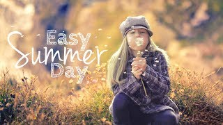 Easy summer day - happy instrumental background music for video