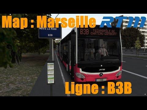 Map: Marseille Ligne B3B /////// Bus: Citaro C2G [OMSI2]