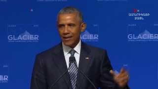 Օբաման՝ սրընթաց եղանակային փոփոխությունների շուրջ