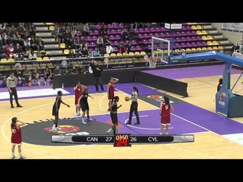 6-1-2015 Campeonato Cadete Valladolid Final Femenina Canarias vs Castilla y Leon