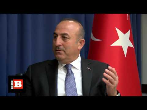 Turkish Foreign Minister on Press Freedom in Turkey