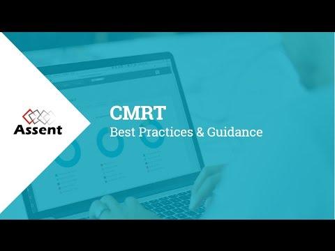 [Webinar] Compliance Essentials: CMRTs