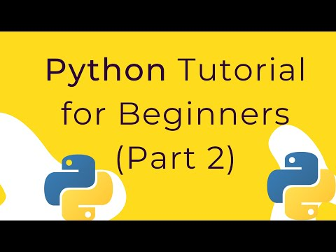 Python Tutorial for Beginners 2019 (Part 2) thumbnail