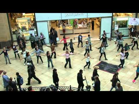 Cambridge Zumbathon - Grand Arcade Flash Mob - 31/03/12 - 10 am performance