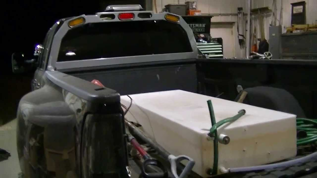 "Custom Back Rack for Darth Dually ""Test Fit Part 2"" - YouTube"