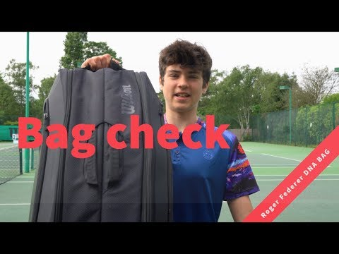 My Roger Federer's Wilson Bag Check