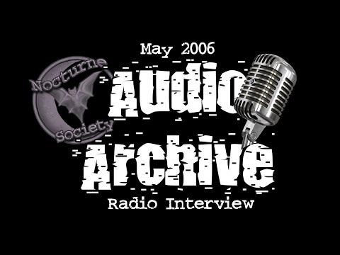 Nocturne Society Audio Archive: May 12 2006 Radio Broadcast
