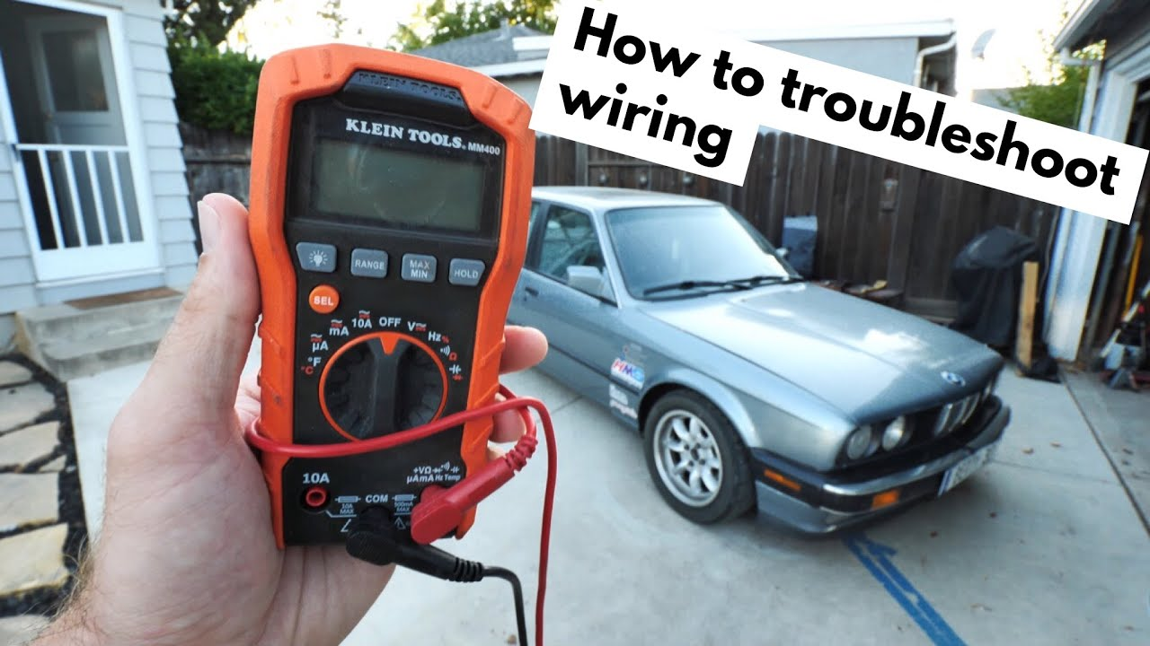 Voltmeter Wiring Car How To Use A Troubleshoot Youtube