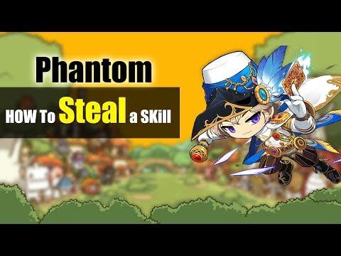 Maplestory M - Phantom - How To Steal A Skill