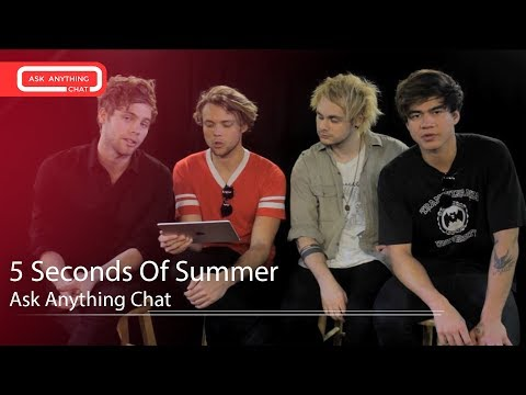 5 Seconds Of Summer Describe Each Other w/ Their Song Titles - AskAnythingChat