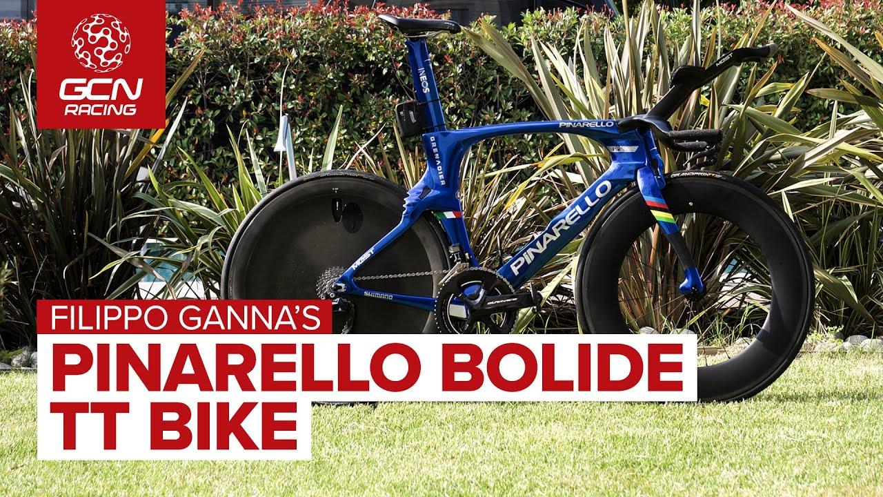 The Fastest Bike In The World | Filippo Ganna's Pinarello Bolide Time Trial Bike