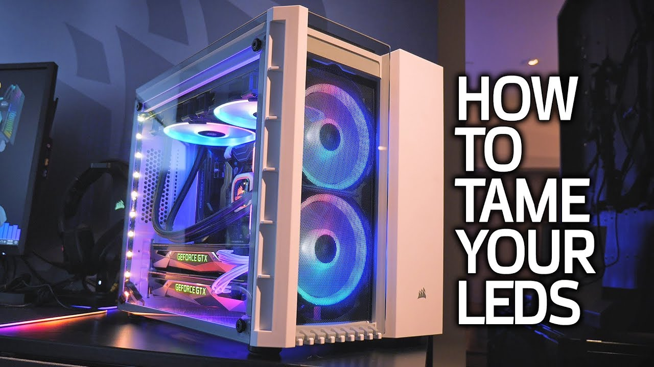 Corsair's iCUE Software Lets You Turn Your RGB LEDs OFF