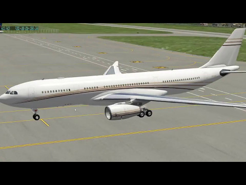 X-Plane 10 A330- Grand Cayman to London- You Don't Want To See The Take-Off