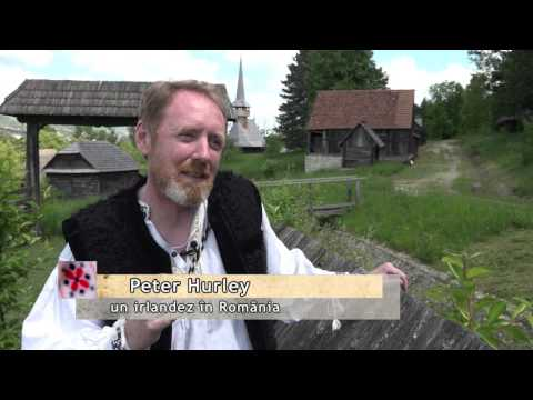 Peter Hurley promovează România oriunde s-ar afla!