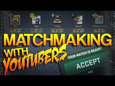 CS:GO - Match-making! EP.7 (w/ YouTubers)