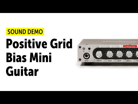 POSITIVE GRID BIAS MINI GUITAR AMP