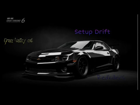 Gran Turismo 6 Drift Setup Chevrolet Camaro ss 08' mp4