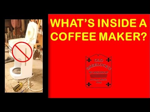 What 39 S Inside A Coffee Maker Youtube