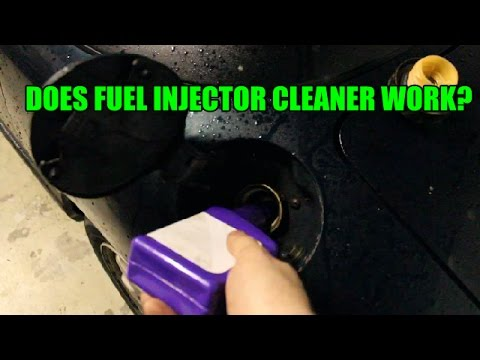 Does fuel injector cleaner really work?