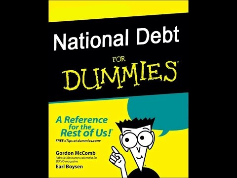 The National Debt For Dummies