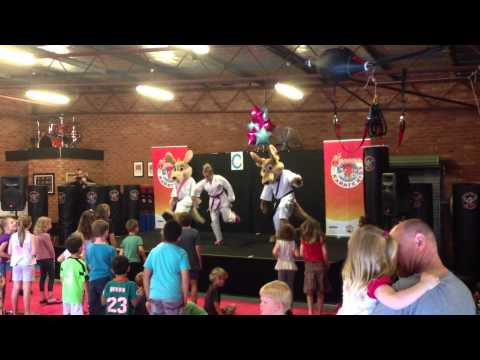 Kids Bullying Interactive Live Show  www.kangakarate.com