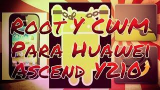 Root - Clockwordmod Recovery #Huawei Y210#