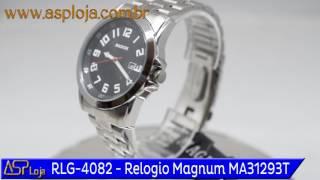 b52bbc1ea7b RLG 4082 Relogio Magnum Masculino Analógico MA31293T Preto