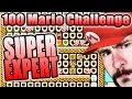 AWESOME BUT ANGRY ~ Super Mario Maker [100 MARIO SUPER EXPERT]