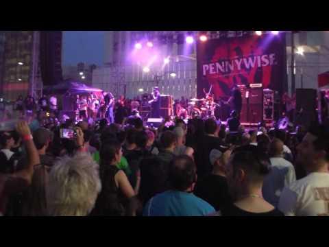 PENNYWISE - PUNK ROCK BOWLING PRB 5/29/17- LAS VEGAS NV